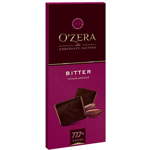 Шоколад O`Zera горький Bitter