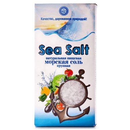 Соль Илецкая морская 3 помол