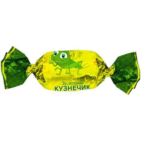 карамель-зелёный-кузнечик