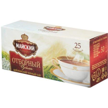 чай майский отборный