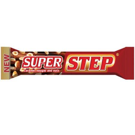 Батончик Степ Супер нуга с орехом