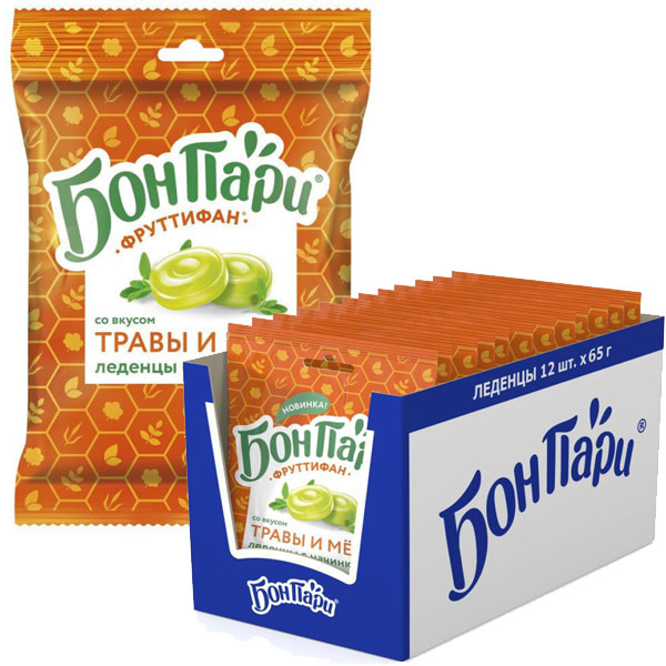 Бон Пари Фруттифан травы/мёд