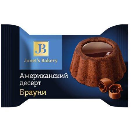 Десерт Janet`s Bakery Американский Брауни