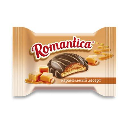 Десерт Романтика карамельный