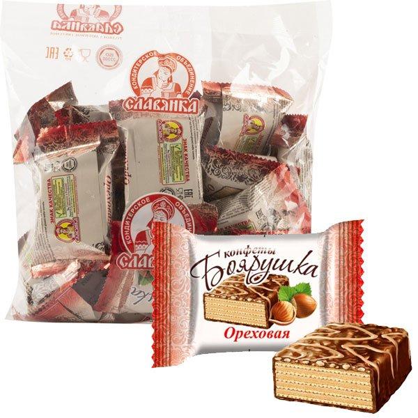 Конфеты-Боярушка-ореховая