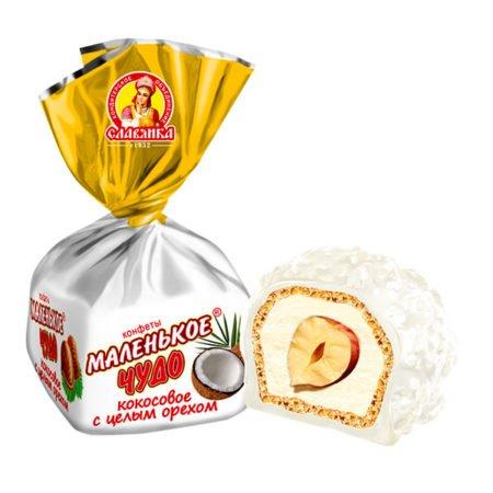 Конфеты Маленькое чудо кокос
