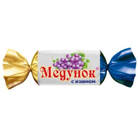 Конфеты Медунок с изюмом