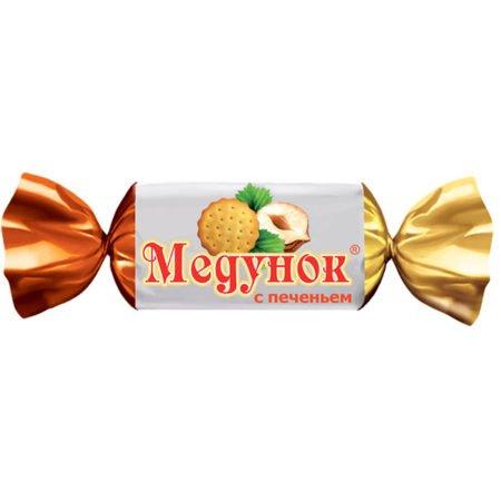 Конфеты Медунок с печеньем