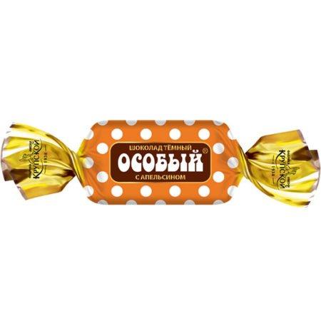 Конфеты Шоколад Особый мини с апельсином