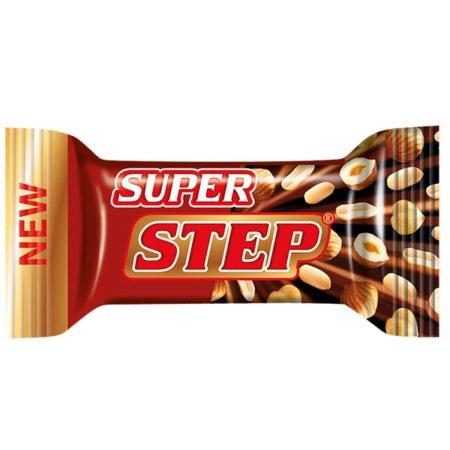 Конфеты Степ супер нуга/арахис