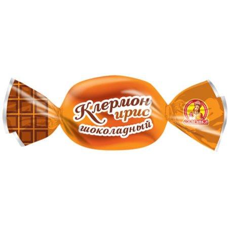 Конфеты ирис шоколадный Клермон Славянка