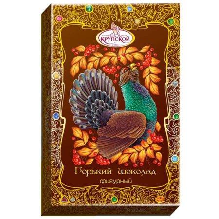 Конфеты шоколад фигурный горький
