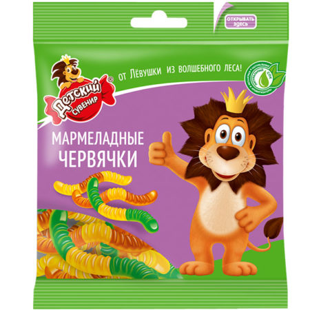 Мармелад Детский сувенир Червячки
