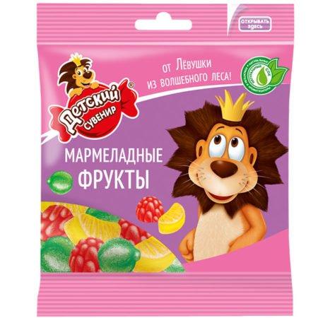 Мармелад Детский сувенир Мармеладные фрукты