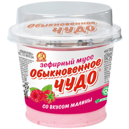 Паста десерт Обыкновенное чудо зефирный мусс