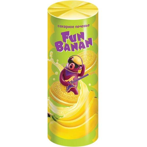 Печенье-сэндвич-Fan-Banan-сахарное