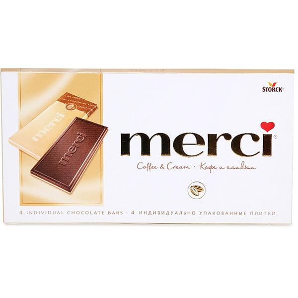 Шоколад Мерси (Merci) Кофе со сливками