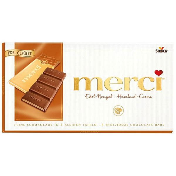 Шоколад-Мерси ореховым-кремом