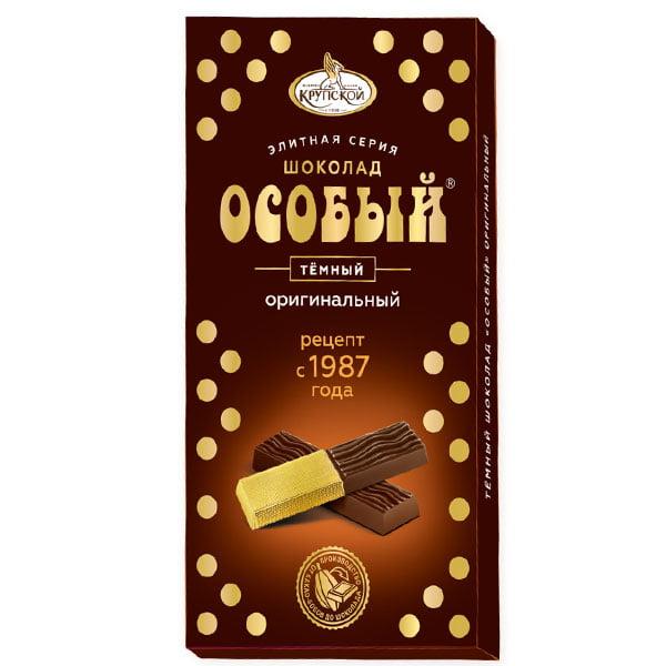 Шоколад Особый темный порционный