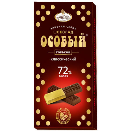 Шоколад горький Особый Крупская