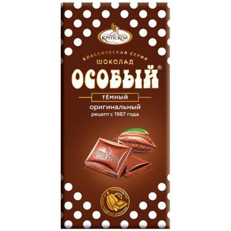 Шоколад темный Особый Крупская