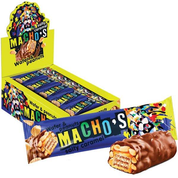 Шоколадный-батончик-Мачос-карамель-арахис