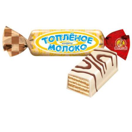 конфеты-toplenoe-moloko