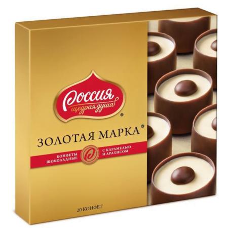 золотая марка карамель арахис 184