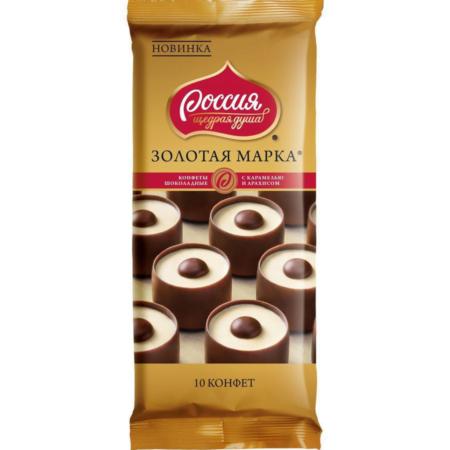 золотая марка карамель арахис 90 грамм