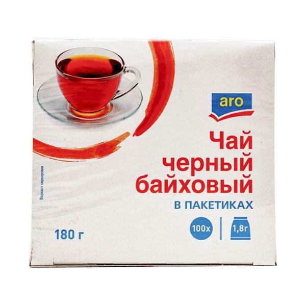 Чай черный ARO пакетированный 100 пак