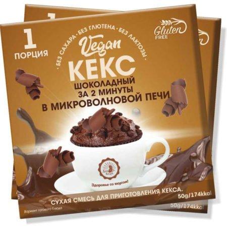 Кекс-смесь-шоколадный