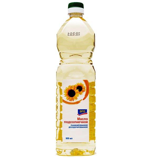 Масло подсолнечное ARO 0,9
