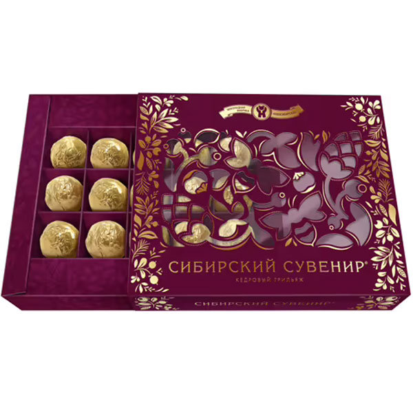 конфет Сибирский сувенир кедровый грильяж