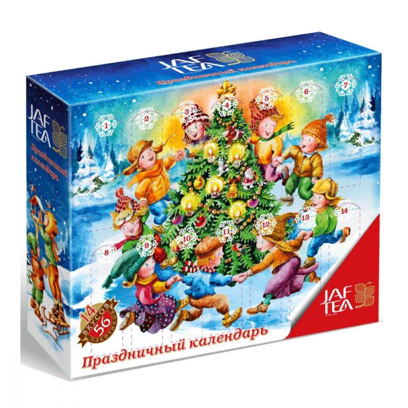 Чай Джаф JAF Праздничный календарь