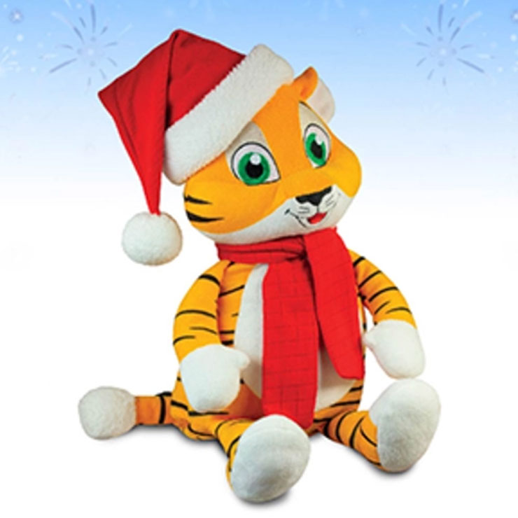 Новогодний-подарок-Тигр