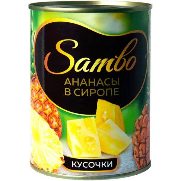 ананасы-в-сиропе-кусочки